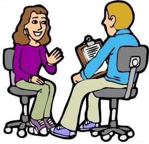 Your job interview!