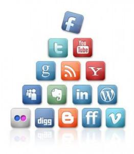 Social-networking-icons-pyramid