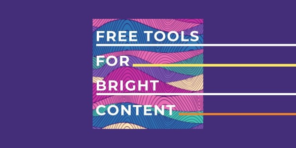 Free tools for content creation