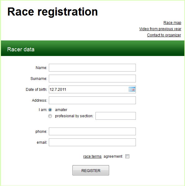 GDPR compliant SMS subscription form