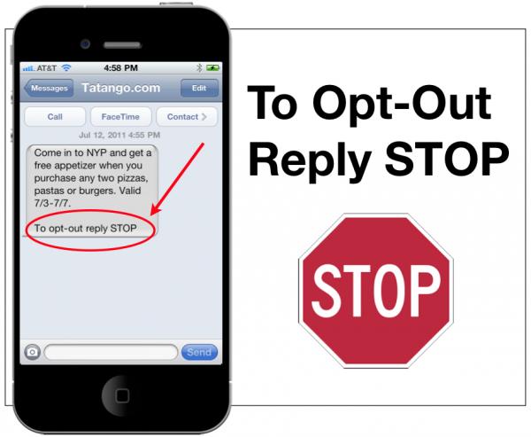 Send mass text