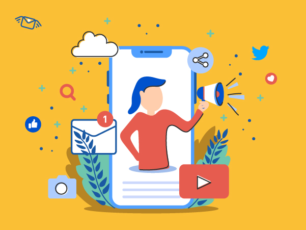 Social media how to get refferals