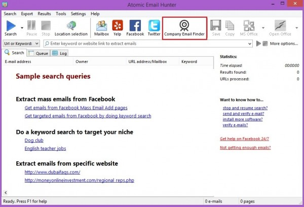 Where to find business email addresses