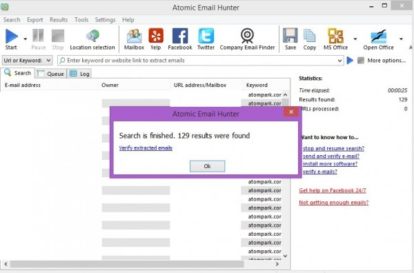 Where to search for email addresses