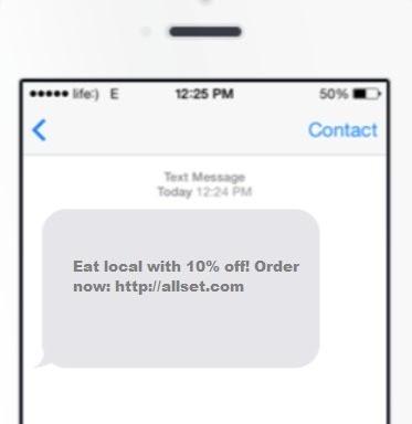 SMS marketing chanel