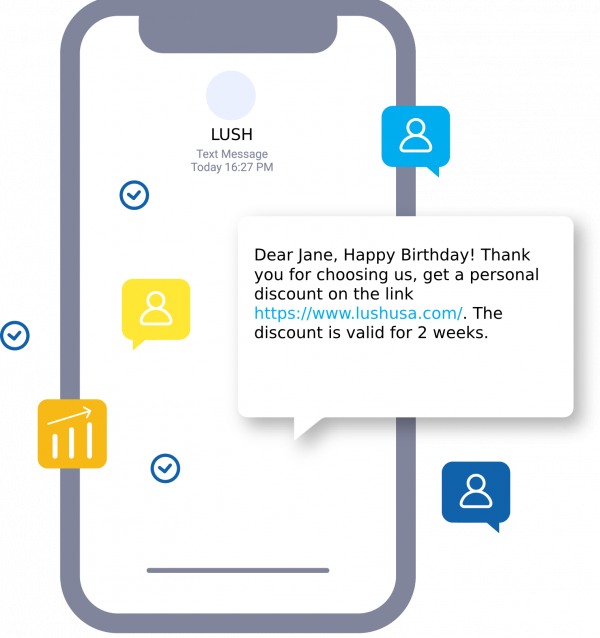 Holiday SMS for birthday