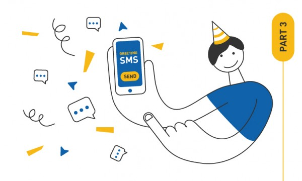 Holiday SMS campaign