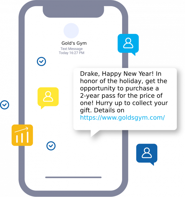 SMS campaign for New Year