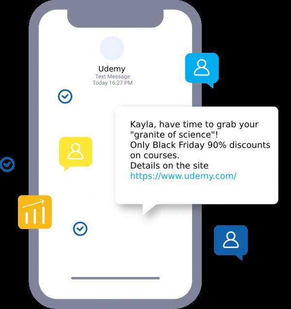 SMS on Black Friday