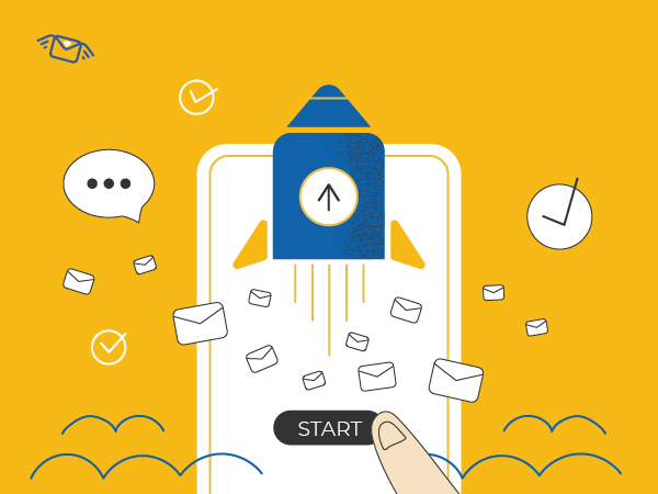 start your business via sms